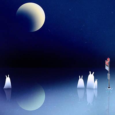 Alien Painting - Portal by Yoyo Zhao