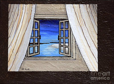 Painting - Portals To The Beach by Walt Foegelle
