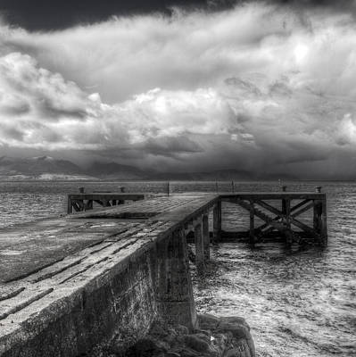 Photograph - Portencross Jetty by Fiona Messenger