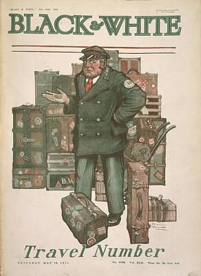 Porter Art Print by British Library