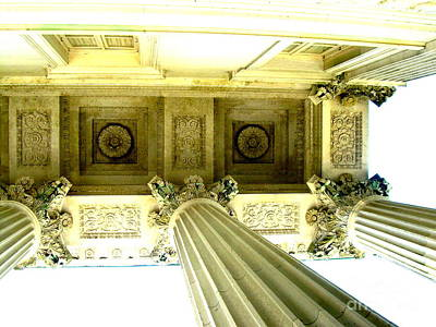 Photograph - Portico by Darrin Diaz