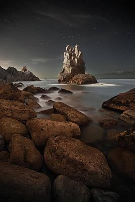 Longs Peak Photograph - Portio by Martin Zalba