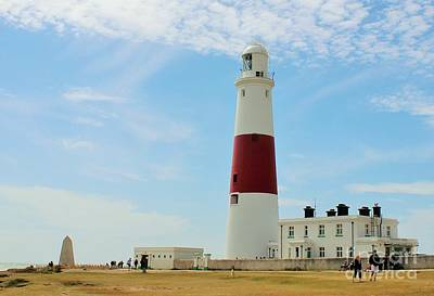 Photograph - Portland Bill Lighthouse by Katy Mei