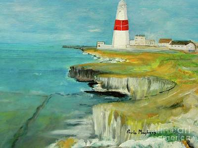 Painting - Portland Bill by Paula Maybery