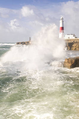 St. Jude Photograph - Portland Bill Storms by Chris Frost