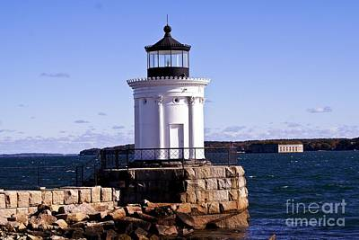 Photograph - Portland Breakwater Light.  by New England Photography