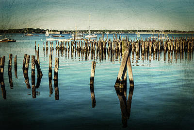 Photograph - Portland Harbor by Karol Livote