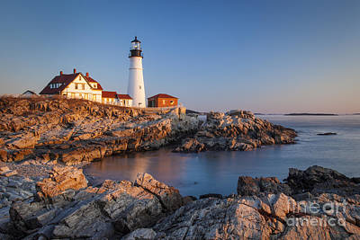 Photograph - Portland Head Dawn by Brian Jannsen