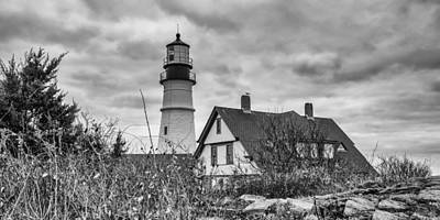 Photograph - Portland Head Light 14431b by Guy Whiteley