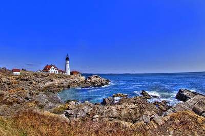 Portland Head Light 4 Art Print by Joann Vitali