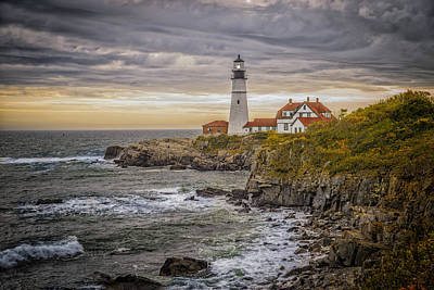 Landscape Photograph - Portland Head Light by Erwin Spinner