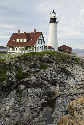 Photograph - Portland Head Light by Karol Livote