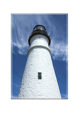 Portland Lighthouse Photograph - Portland Head Light by Mike McGlothlen