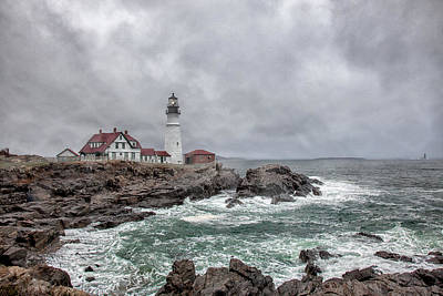 Photograph - Portland Head Light by Sara Hudock