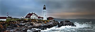 Photograph - Portland Head Lighthouse 1 by Glenn Gordon