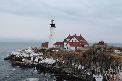 Mannequin Dresses - Portland Head Lighthouse 8531 by Joseph Marquis