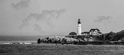 Portland Head Lighthouse Original by Betty Denise