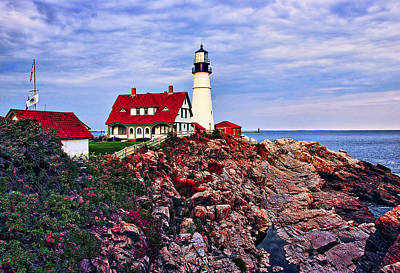 Wow Photograph - Portland Head Lighthouse by Marcia Colelli