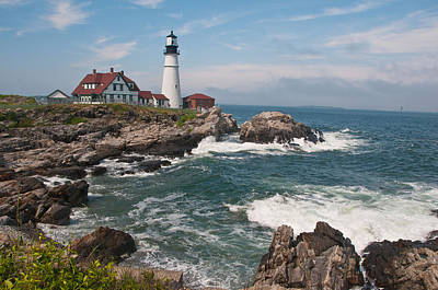 Photograph - Portland Head Lighthouse by Paul Miller