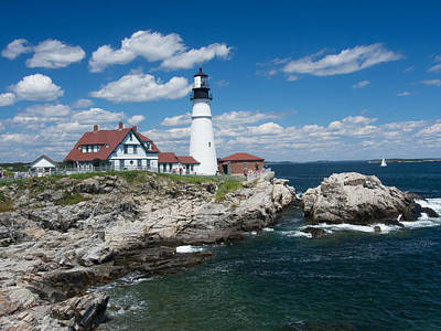 Photograph - Portland Headlight 0219 by Guy Whiteley