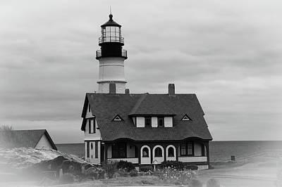 Photograph - Portland Headlight 14221 by Guy Whiteley