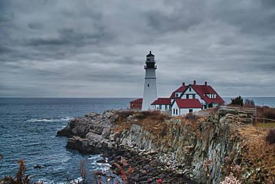 Photograph - Portland Headlight 14440 by Guy Whiteley