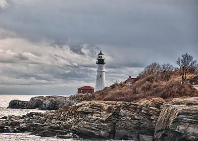 Photograph - Portland Headlight 20533 by Guy Whiteley