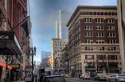 Photograph - Portland Hustle by Spencer McDonald