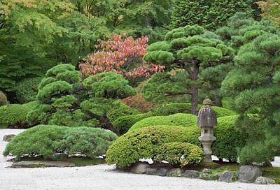 Portland Japanese Garden, Oregon Art Print by William Sutton
