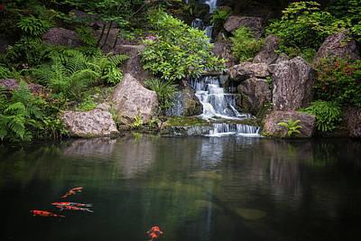 Photograph - Portland Japanese Gardens by Thomas Hall