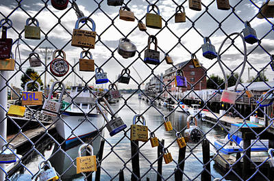 Photograph - Portland Locked by Emily Stauring