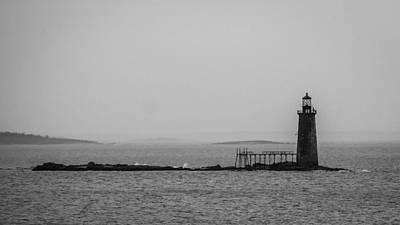 Portland Maine Lighthouse  Art Print