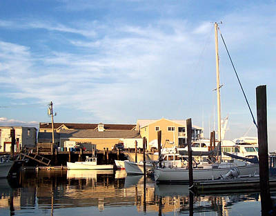 Photograph - Portland Me Boat Docks by Joelle Bhullar