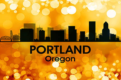 Portland Or 3 Art Print by Angelina Vick