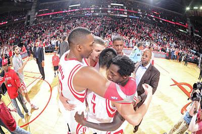 Photograph - Portland Trail Blazers V Houston Rockets by Bill Baptist