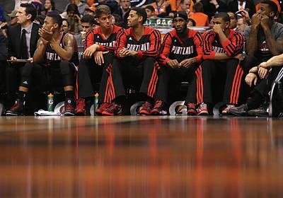 Photograph - Portland Trail Blazers V Phoenix Suns by Christian Petersen