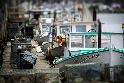 Photograph - Portland Working Waterfront by Dave Cleaveland