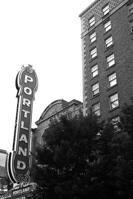 Photograph - Portlandia by Nancy Ingersoll