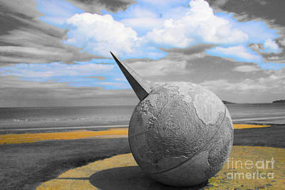 Photograph - Portmanuck Sphere Ireland by Jo Collins