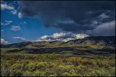 Photograph - Portneuf Mountains by Erika Fawcett