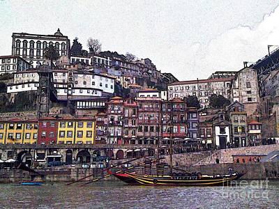 Photograph - Porto-246 by Rezzan Erguvan-Onal