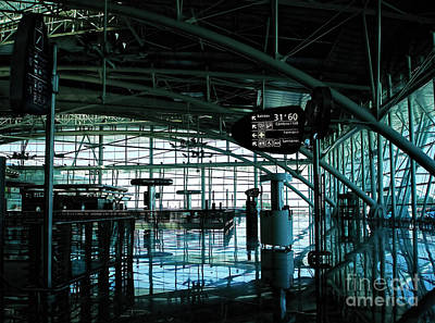 Photograph - Porto Airport Interior Architecture by Menega Sabidussi