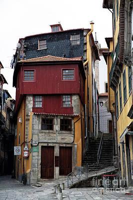 Red School House Photograph - Porto Architecture by John Rizzuto