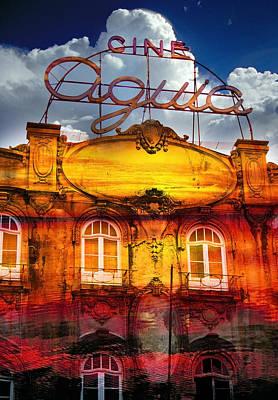 Composite Photograph - Porto Cine Aquia by Skip Hunt