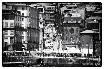 Photograph - Porto Historic Center by John Rizzuto