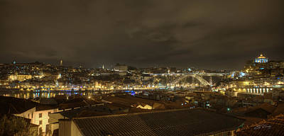 Porto Portugal From Taylor Winery Art Print by Ed Cilley