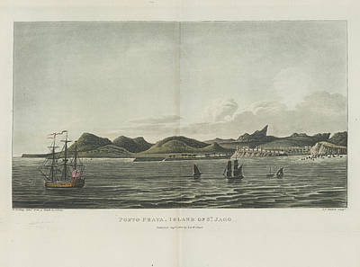 West Africa Photograph - Porto Praya by British Library