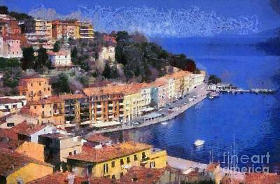 Painting - Porto Stefano In Italy by George Atsametakis