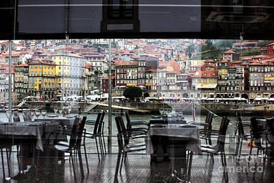 Photograph - Porto Through The Window by John Rizzuto