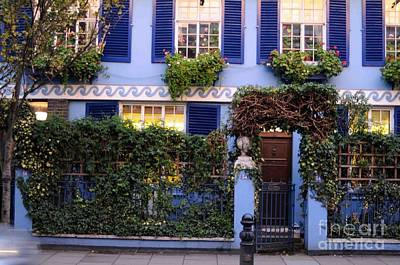 Photograph - Portobello Blue House by Haleh Mahbod